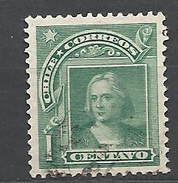 CHILE       1905 Christopher Columbus Head In New Drawing Used