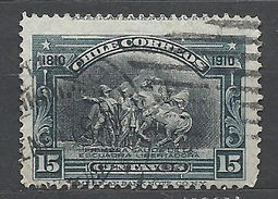 CHILE      1910 The 100th Anniversary Of Independence Used - Chile