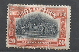 CHILE      1910 The 100th Anniversary Of Independence Used