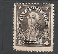 """CHILE     1911 Personalities - Inscribed """"CHILE CORREOS""""     Mateo De Toro              Used"""