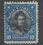 "CHILE     1911 Personalities - Inscribed ""CHILE CORREOS""    Bernardo O'Higgins              Used"