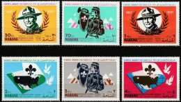 Manama (Ajman) - 1967 - Scout Movement (MNH, **)