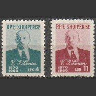 Albania - 1960 - Lenin, Vladimir Ilyich (MH, *)