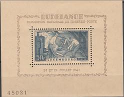LUXEMBOURG..1946..Michel # 412 (Block 6)...MNH...MiCV - 20 Euro.