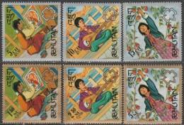 Bhutan - 1967 - Scout Movement (MNH, **)