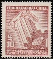 Chile - 1949 - Anniversary Of School Of Arts And Crafts (MNH, **)