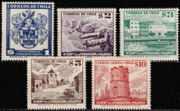 Chile - 1953 - 4th Centenary Of The Founding Of Valdivia (MNH, **)