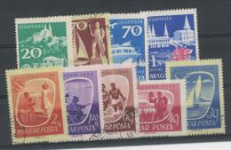 HONGRIE : TOURISME N° Yvert 1303/1037 + PA 224/227 Obl.