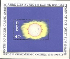 East Germany (GDR) - 1964 - International Years Of The Quiet Sun (MNH, **)