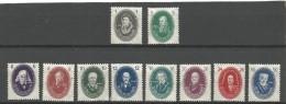 D.D.R  N° 15/24  Xx Postfris Cote Yvert 2003  180 Euro