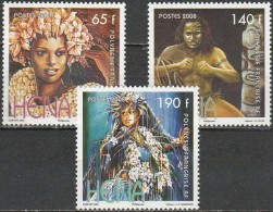 French Polynesia - 2008 - Traditional Dance (MNH, **)