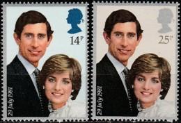Great Britain - 1981 - Royal Wedding (MNH, **)
