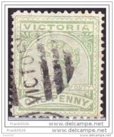 Austrailia, Victoria, 1886, One Penny, Used