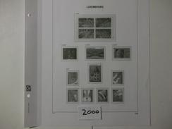 LUXEMBOURG  - DAVO LUXE  Les Feuilles De L'année 2000 - Comme Neuf  - Voir Photo - - Albums & Reliures