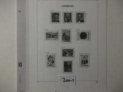 LUXEMBOURG  - DAVO LUXE  Les Feuilles De L'année 2001 - Comme Neuf  - Voir Photo - - Albums & Reliures