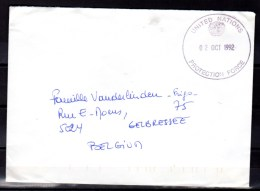 ONU, 4 Lettres Forces Armée De L'ONU, Prix 7 €    Poste Hors Format