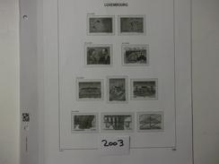 LUXEMBOURG  - DAVO LUXE  Les Feuilles De L'année 2003 - Comme Neuf  - Voir Photo - - Albums & Reliures