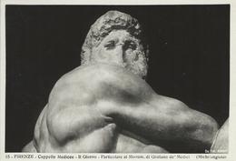 Firenze  Cappelle Medicee.  The Day Detail.   # 05194 - Sculpturen
