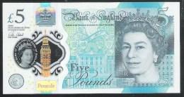 United Kingdom 5 Pound 2016 Pnew UNC - 5 Pounds