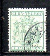 T1289 - CUBA  ,  Telegrafo Yvert N. 32 Usato . - Telegrafo