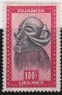 Ruanda        .        Yvert   172      .     *    .          Ongebruikt - Frankrijk (oude Kolonies En Protectoraten)