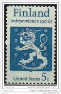 USA 1967, Finnish Independence - 50th Anniv, MNH - Vereinigte Staaten