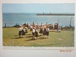 Postcard International Folklore Festival Folkstone ( Salzburg Group ) No Publisher Details Kent  My Ref B155 - Folkestone