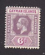 Cayman Islands, Scott #39, Mint Hinged, King George V, Issued 1912 - Cayman Islands