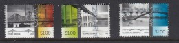 Australia 2016 Bridges -Set Of 3 Sheet Stamps Used