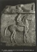 Roma -  Museo Barracco. - Bassorilievo Attico Funebre.    # 05204 - Sculptures