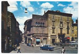 Viterbo - Piazza Delle Erbe E Corso Vittorio Emanuele - H3177 - Viterbo