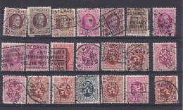 Lotje Perforaties Belgie  Kaart 738 - 1951-..