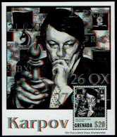 Schach Chess Ajedrez échecs - Grenada 2001- Karpov Karpow