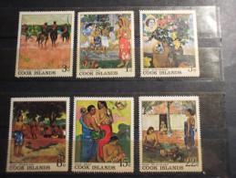 COOK - 1967 QUADRI GAUGUIN 6 VALORI - NUOVI(++)