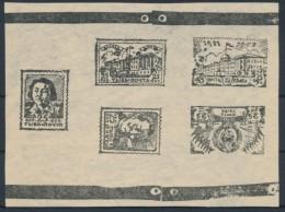 1942-43,,,TUVA , Russia, Stamp,