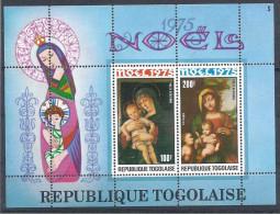1975 TOGO BF 89** Noël, Tableaux, Bellini