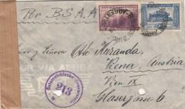 ARGENTINIEN 1947 - 2 Fach Frankierung Auf Zensur-FP-Brief Gel.v. Buenes Aires Nach Wien IX, Brief Mit 2 Seitigen Inhalt, - Argentinien
