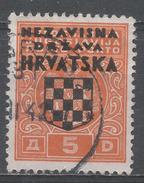 Croatia 1941. Scott #J4 (U) Coat Of Arms * - Croatie