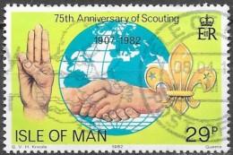 Man - Scoutisme -  Y&T N° 202 - Oblitéré
