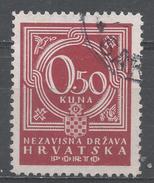 Croatia 1941. Scott #J6 (U) Numeral Of Value * - Croatie