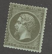 FRANCE - N°19 OBLITERE - COTE YT : 45€ - 1862