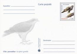 Moldova 2016 - Birds Of Prey - Northern Goshawk - Prepaid Postcard - Stationary