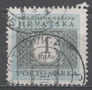 Croatia 1943. Scott #J12 (U) Numeral Of Value * - Croatie