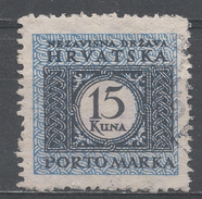 Croatia 1943. Scott #J18 (U) Numeral Of Value * - Croatie