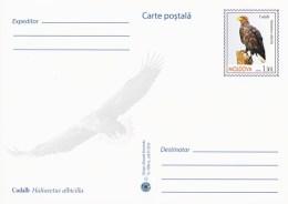 Moldova 2016 - Birds Of Prey - White Tailed Eagle - Prepaid Postcard - Stationary