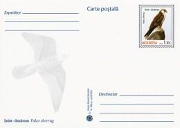 Moldova 2016 - Birds Of Prey - Saker Falcon - Prepaid Postcard - Stationary