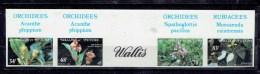 TP THEME FLEURS - COLONIE FRANCAISE - WALLIS ET FUTUNA - N°286-9 NON DENTELE - XX - Unused Stamps