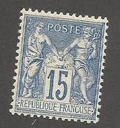 FRANCE - N°90 NEUF* AVEC CHARNIERE - COTE YT : 60€ - 1878