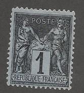 FRANCE - N°83 NEUF* AVEC CHARNIERE - COTE YT : 11€ - 1877