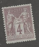 FRANCE - N°88 NEUF* AVEC CHARNIERE - COTE YT : 14€ - 1877